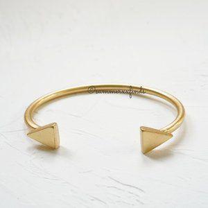 Madewell Isosceles Cuff Bracelet